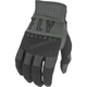 Youth Black/Gray F-16 Gloves