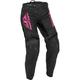 Women's Black/Pink F-16 Pants