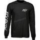 Black Fusion Long Sleeve Shirt