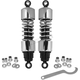 Chrome 11 in. Adjustable Premium Shock Absorbers - 29036