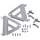 Brushed Aluminum Radiator Race Brace - 0122-1205