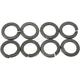 Parkerized Cylinder Base Lock Washers - 9716-8