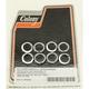 Chrome Cylinder Base Lock Washers - 9715-8