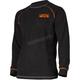 Black/Orange Pyro Tenacious Merino Longsleeve