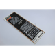Chrome Knurled Rocker Box Bolt Kit - 8790-28