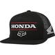 Black Honda Snapback Hat - 26048-001-OS