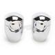 Counter-Bored Handlebar Risers-Round Custom Top Clamps - RA-1C