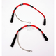 Hotwires Performance Red Spark Plug Wires for Standard Coils - 012052111