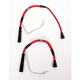 Hotwires Performance Red Spark Plug Wires for Standard Coils - 012052101