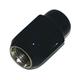 Black 12x1.25 Lug Nut