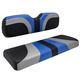 Red Dot® Blade Seat Covers for GTW Mach1 & 2 Seat Kits - Alpha Blue/Silver/Black Carbon Fiber