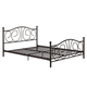 Kris Queen Metal Bed