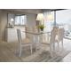 Manhattan Comfort Viennese Sideboard in White Gloss