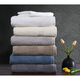 Truly Calm Antimicrobial 6 Piece Towel Set in Light Gray