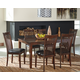 Mallenton Dining Room Table and Chairs (Set of 7)