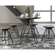 Sonilyn Counter Height Dining Room Table and Bar Stools (Set of 5)