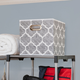 Home Basics Arabesque Collapsible Storage Cube