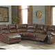 Billwedge 6-Piece Reclining Sectional with Chaise