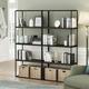 Furinno Moretti Modern Lifestyle Wide Stackable Shelf