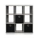 Furinno Simplistic 9-Cube Organizer