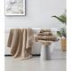 Brooklyn Loom Solid Turkish Cotton 6 Piece Towel Set in Khaki