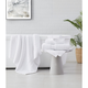 Brooklyn Loom Solid Turkish Cotton 6 Piece Towel Set in White