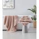 Brooklyn Loom Solid Turkish Cotton 6 Piece Towel Set in Blush