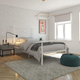 Atwater Living Alia Metal Bed, Twin White