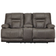 Wurstrow Power Reclining Loveseat with Console