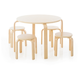 Kids Nordic Table and Chairs (Set of 5)