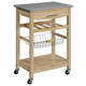 Kitchen Island Granite Top Cart