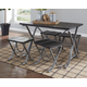 Elistree Dining Room Table and Stools (Set of 5)