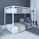 Atwater Living Mason Metal Twin over Twin Bunk Bed, White