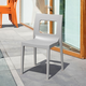 Siesta Outdoor Lucca Dining Chair Silver (Set of 2)