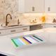 Multi Color Stripes Decorative Tray