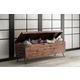 Crawford & Burke Acacia Wood Storage Bench