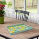 Lemons Decorative Rectangle Tray