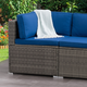 Parksville  Outdoor Patio Sectional Corner Chair