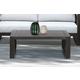 Paradise Outdoor Dark Eucalyptus Wood Coffee Table