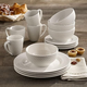 ELLE Bridgette Porcelain 16-Piece Dinner Set