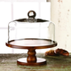 AMERICAN ATELIER Madera Pedestal Plate with Dome