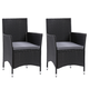 Parksville  Outdoor Patio Dining Armchair with Cushion (Set of 2)