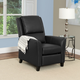 Kate Bonded Leather Recliner