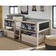 Wrenalyn Twin Loft Bed with Under Bed Bin Storage