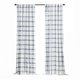 Elrene Home Fashions Farmhouse Living Double Windowpane Plaid Room Darkening 52