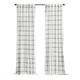 Elrene Home Fashions Farmhouse Living Double Windowpane Plaid Room Darkening 52