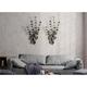 Gild Design House Strands of Eucalyptus Metal Wall Decor (Set of 2)