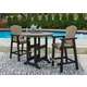 Fairen Trail Outdoor Bar Table and 2 Barstools
