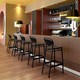 Siesta Outdoor Marcel Bar Stool Black (Set of 2)