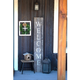 Rustic Rustic Farmhouse 5' Weathered Gray Welcome Sign Front Porch